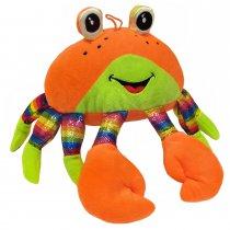 Cangrejo de Peluche gigante con detalles multicolor 60 cm