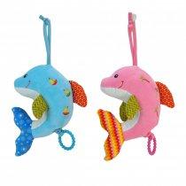 Cunero musical delfín dos colores