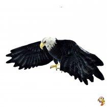 Águila de peluche gigante 146 Cm
