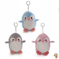 Llavero de peluche Pingüino gordito